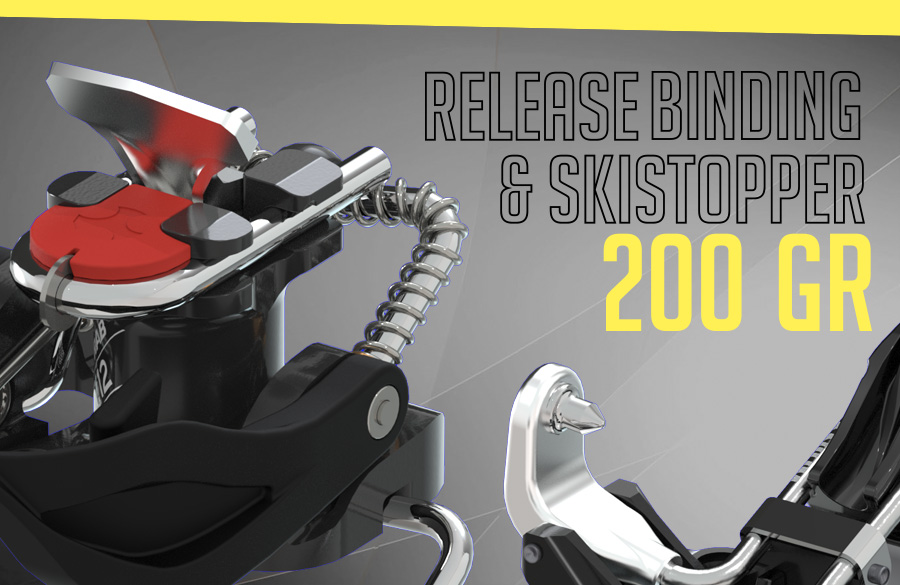Looking for a safety  binding that weighs just 200g?  It's here!