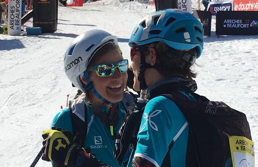 Pierra Menta, day 2: victory for Laetitia Roux