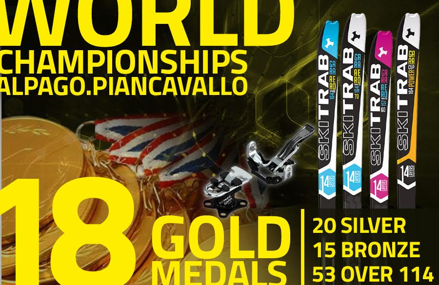 World Championship Alpago-Transcavallo 2017:  Ski Trab dominates the ranking with nearly 50% of the medals