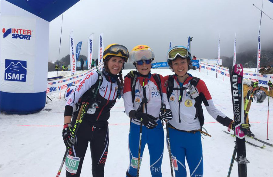 Skimountaineering World Cup, in Prato Nevoso Laetitia Roux is the leader